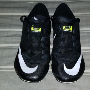 Nike Superfly Elite Track Spikes Black White